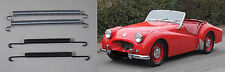 (x4) TRIUMPH TR2 TR3    Rear Brake Shoe Return Springs   (** 1953- 57 Only **)