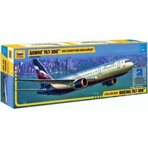 Zvezda 7005 Boeing 767-300 / B763 (Boeing) /american civil airliner/ 1/144