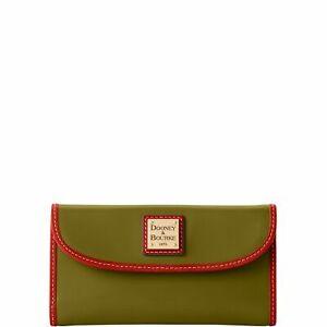 Dooney & Bourke Wexford Leather Continental Clutch Wallet
