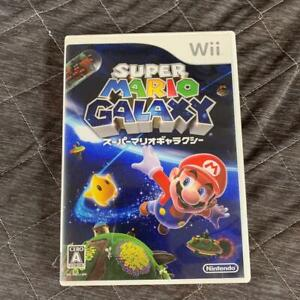 used Super Mario Galaxy Nintendo Wii 3D action Game software NTSC-J (Japan)