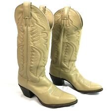 Justin Cowboy Cowgirl L4809 7B Western Boots Leather