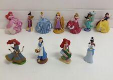 "Disney Princess 4"" Vinyl Figures Figurines Lot Set Of 11"