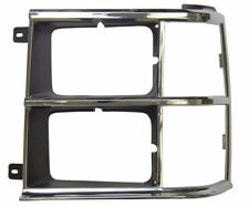 1984-86 Dodge Caravan Voyager Left LH Headlight Bezel Chrome 4270343 DG07006HCL