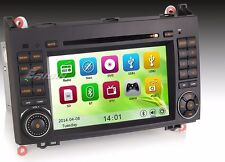 "AUTORADIO touch 7"" Mercedes A B W169 W245 Navigatore Gps Comandi Volante SD Dvd"