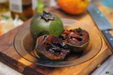 Diospyros Digyna BLACK SAPOTE Persimmon Chocolate Pudding Fruit * 5 Seeds * Rare