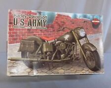 SEALED Harley Davidson US Army 1/12 IMEX Model Kit #468 1980 FLH Motorcycle