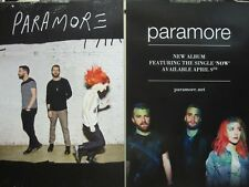 PARAMORE 2013 fueled by ramen 2 sided promotional poster ~NEW & MINT condition~!