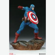 SIDESHOW Avengers Assemble Captain America Statue Figure NEW SEALED