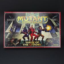 Mutant Chronicles: Siege of the Citadel Board Game - Very good Condition