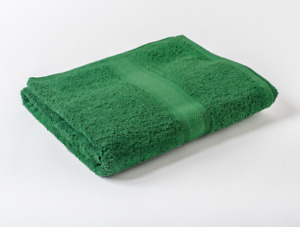 12 x Green Luxury 100% Egyptian Cotton Hairdressing Towels Salon Beauty 50x85cm