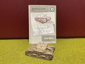 Axis & Allies Miniatures, World War II, Italy, Semovente 75/18 Tank Des.