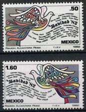 Mexico 1982 SG#1656-7 Christmas MNH Set #D852