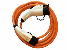 Ford Transit Custom PHEV Charging Cable fast 32amp 5m Type 2 to Type 1 + case