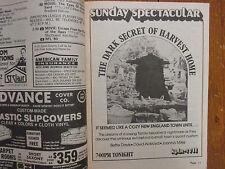 1980 St. Louis Post-Dispatch TV Magaz(BETTE DAVIS/NATASHA RYAN/LAWRENCE PRESSMAN