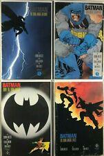 Batman: The Dark Knight Returns (DC 1986) 1-4 Complete Series 1st Prints NM - F