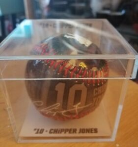 USA Souvenir Baseball - 10 Chipper Jones. Wounded warrior project