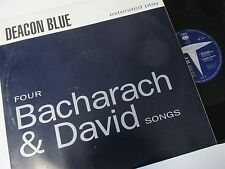 "Deacon Blue-Four Bacharach & David Songs-DEAC-T12-Vinyl-12""-Single-Record-1990s"