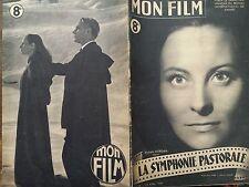 """MON FILM 1947 N 39 """" LA SYMPHONIE PASTORALE """"avec MICHELE MORGAN"""