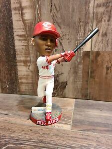 Eric Davis Cincinnati Reds 2014 SGA Bobblehead Hall Of Fame 1990 MLB