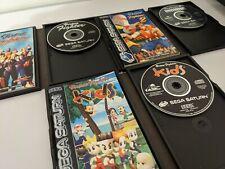 ## SEGA SATURN Virtua Fighter Set - Virtua Fighter Kids / 1 / 2 ###