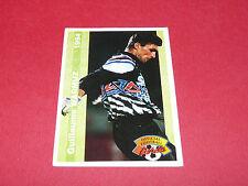 G. WARMUZ RC LENS RCL BOLLAERT SANG & OR FRANCE FOOTBALL CARD PANINI 1994