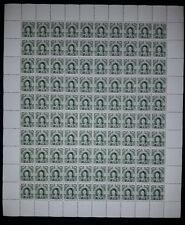 "Japan. 1908. Empress Jingo. Overprinted ""China"". 5 Y.(REPLICA.) SHEET - 100 PCs."