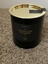 Makers of Wax Goods Black Ash & Amber Scented Candle