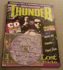 THUNDER N.9 Luglio 1995 Rivista musicale Metal + CD White Zombie