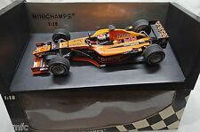 BUILT 1/18 ORANGE ARROWS ASIATECH A22 Formula 1 J. VERSTAPPEN MINICHAMPS rare