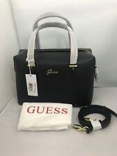 Guess Signature Ladies Designer New Satchel handbag Black HWAMAYP1909