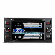 XTRONS Ford Focus/S-Max/C-Max/Kuga Car Stereo CD DVD Player GPS Navigation Black