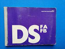 Betriebsanleitung / Handbuch Citroen DS 21 Injection  1971 Handbuch