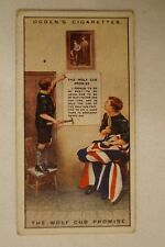 Vintage - 1900's - Ogdens - Boy Scouts - Series Card - The Wolf Cub Promise