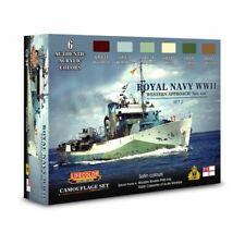 Lifecolor CS34 Royal Navy WWII Set 2 Acrylfarben 6x22 ml (100ml=13,64€)
