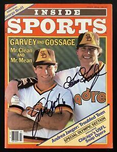 Goose Gossage Signed Inside Sports Magazine July 1984 Steve Garvey Auto HOF JSA