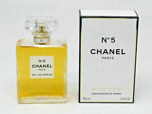 Chanel No.5 3.4oz  Women's Eau de Parfum 100% Authentic France Lafayette Perfume