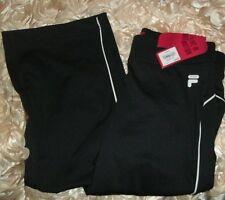 FILA SPORT Motion Girls Size 14 Black all Season 90% Polyester 10% Spandex