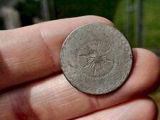 Rev War Dug 18Th Century Tombac Designed Button - Starburst!