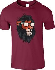 Lion T-Shirt Gym Training Summer Disney Animal King MMA UFC Gift Men Ladies Top