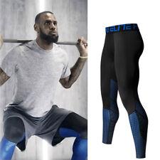 Herren Kompression Strumpfhose Leggings Leggins Tights Training Jogging Sport XL