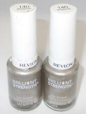 2 REVLON  Brilliant Strength Nail Color Nail Polish MAGNETIZE 140