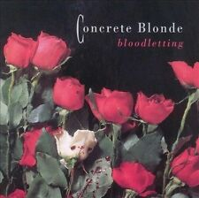 CONCRETE BLONDE - Bloodletting - CD 1990 EXCELLENT / MINT CONDITION / FREE SHIP