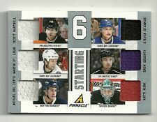2011-12 Pinnacle Starting 6 Jersey #33 STAMKOS Niemi DOUGHTY St Louis HARTNELL