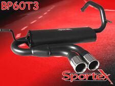 Sportex Peugeot 107 1.0i performance exhaust back box 06/2005>