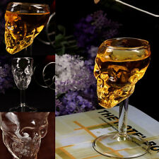 Bones Armor Warrior Skull Designed High Wine Glass Goblet Cup Drinkware