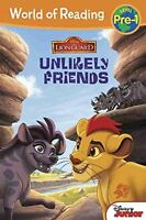 World of Reading: The Lion Guard Unlikely Friends: Pre-Level 1 by Disney Book Gr
