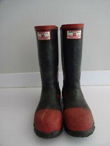 Argyll Uniroyal Super Safety Wellington Boots - steel toe cap - UK size 6 EUR 39