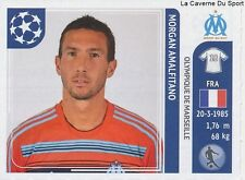 N°374 MORAGN AMALFITANO # FRANCE OM MARSEILLE STICKER CHAMPIONS LEAGUE 2012