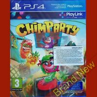 CHIMPARTY - PlayStation 4 PS4 ~ Import - Brand New & Sealed!
