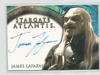 JAMES LAFAZANOS STARGATE ATLANTIS SEASON 2: MALE WRAITH CERTIFIED AUTOGRAPH